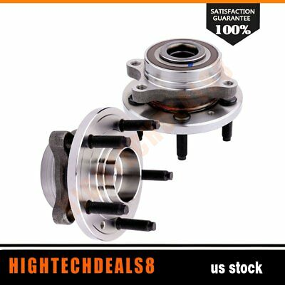 2 Rear New Complete Wheel Hub And Bearing Assembly Fits Lincoln MKX Ford Taurus
