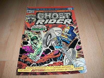 Ghost Rider (1973 1st Series) #10...Published Feb 1975 by Marvel