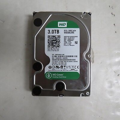 "Western Digital Wd30Ezrx Green 3 Tb Internal Hdd - 3.5"" - For My Cloud Ex2 - Sat"