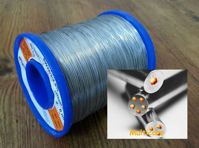 0.8mm 63/37 Rosin Core Flux 3% Electrical Soldering Wire. High Quality UK SELLER