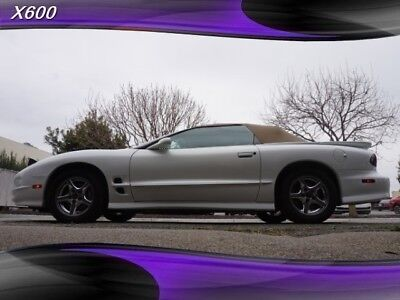 Firebird Trans Am 1 owner v8 Rare 2002 Pontiac Firebird