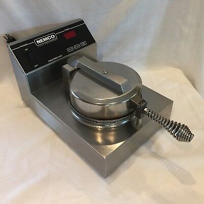 NEMCO Waffle Cone Maker Model 7030 - Single - Commercial Cooking Appliance