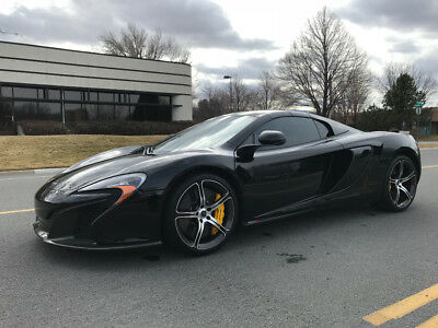 650S Spider 2015 McLaren 650s, Black with 2,500 Miles available now!