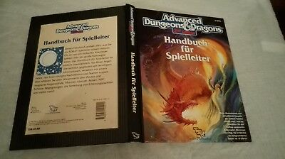 HANDBUCH FÜR SPIELLEITER AD&D 2nd EDITION ADVANCED DUNGEONS & DRAGONS