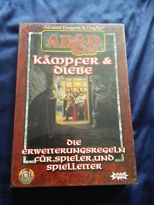 Ad&d Advanced Dungeons & Dragons - Kämpfer & Diebe Box Ovp In Folie