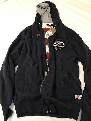Barbour International Steve Mcqueen U.S. Flag Hoodie