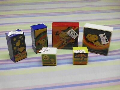 snoopy peanuts small container lot pic n save new