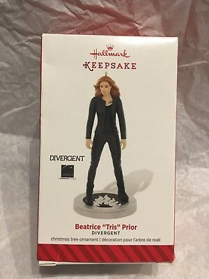 Hallmark 2014 Divergent Beatrice Tris Prior Keepsake Ornament NEW