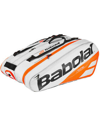 Babolat Pure Strike 12 Pack White/Red Tennis Racquet Bag