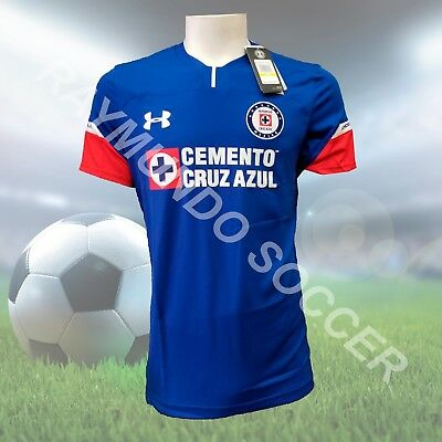90f2ded4fb9 UNDER ARMOUR CRUZ Azul Home Jersey 2018/19
