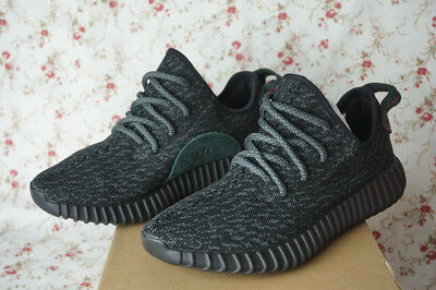 bff7df5053d3f ... best price 2015 rare authentic adidas yeezy boost 350 pirate black  aq2659 pre owned size9 479d4