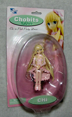 NEW Chobits Series 2 Chi in Party Dress 6-Inch Action Figure TOYNAMI  USA SELLER