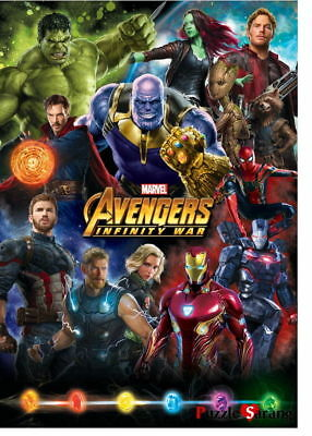 Jigsaw Puzzles 1000 Pieces Marvel Avengers Infinity War collection II
