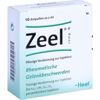 HEEL ZEEL Ampules 2.2ml Solution 2.0ml (10 ampules), For Arthritis Exp. 01/2021