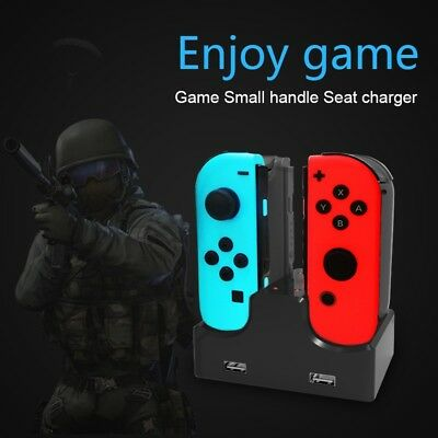 USB Controller Charging Dock Stand Charger Station For Nintendo Switch Joy-Con