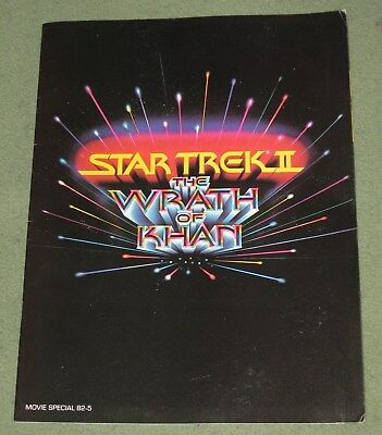 Star Trek Wrath Of Khan Souvenir Program 1983