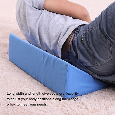 Acid Reflux Foam Bed Wedge Pillow Leg Elevation Back Lumbar Support Cushions
