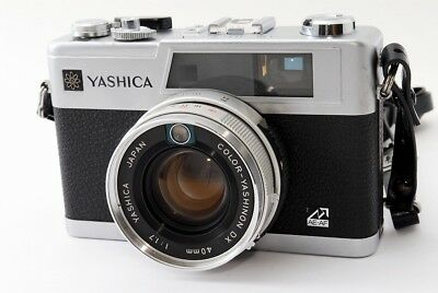 Yashica Electro 35 GX 35mm Rangefinder Film Camera w/Lens Excellent!  ♯0704