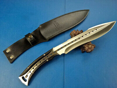 Top Quality Sharp Fulltang D2 59Hrc Outdoor Survival Bowie Camping Hunting Knife