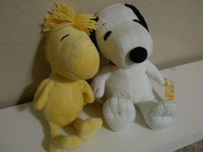Kohls Cares Peanuts Snoopy & Woodstock Stuff Toy *NEW OTHER*