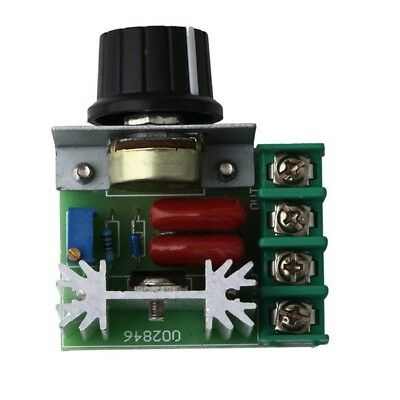 2000W 220V AC Speed Controller SCR Voltage Regulator Dimming Dimmers Thermostat