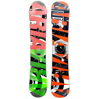 Aria Sound Vibes Green 157.5cm Camber Snowboard
