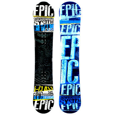 Epic I-Class 145cm Camber Snowboard