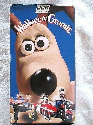 Collectible Wallace And Gromit 3 Vhs Boxed Set