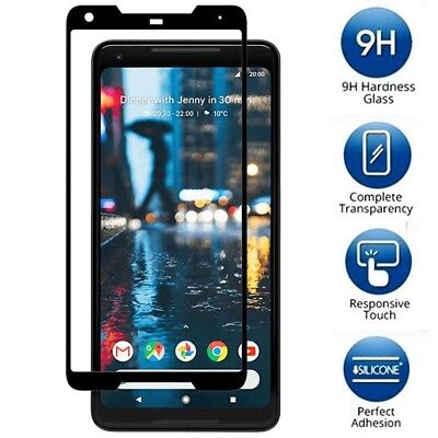 1pc 3D Curved Premium Tempered Glass Screen Protector For Google Pixel 2 / 2XL