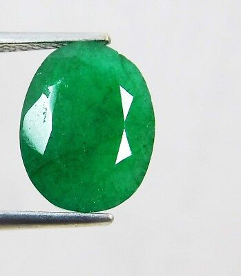 Natural 4.80 Ct Oval Cut Colombian Loose Emerald Gemstone. 11073 UT