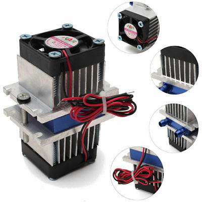 DIY Kits Thermoelectric Peltier Refrigeration Cooling System +Fan S230