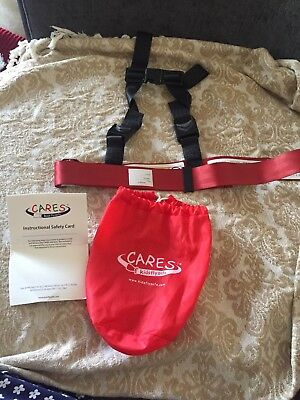 CARES Kids Fly Safe Harness Used Excellent Condition Boxed