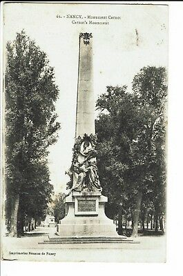 CPA-Carte postale- FRANCE- Nancy - Monument Carnot -1918 - S1321