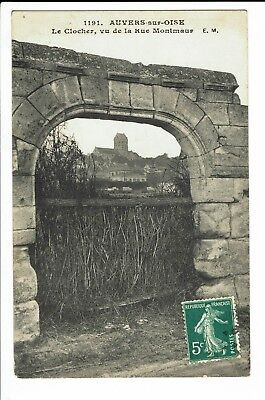 CPA-Carte postale- FRANCE -Auvers sur Oise - Le Clocher S1328