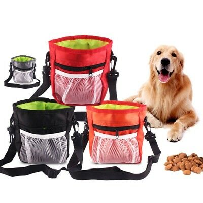 Pet Dog Obedience Training Treat Bag Puppy Feed Bait Food Snack Pouch Belt Bags