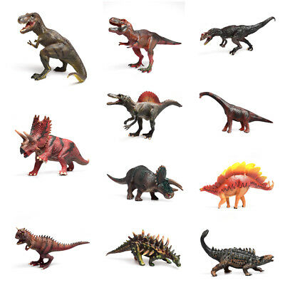 Jumbo Dinosaur Play Toy Animals Action Figures T Rex Triceratops Model Toys