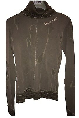 Authentic Christian DIOR Logo sweater Size 36FR