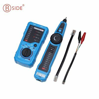 Bside Telephone Wire Network Tracker Cable Tester Detector Line Finder AZ
