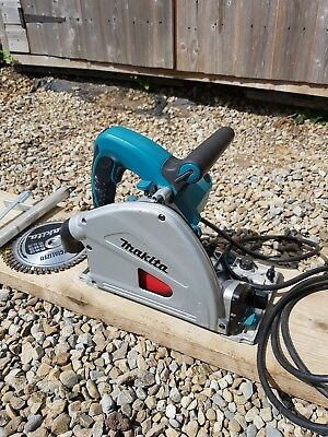Makita 110v,165mm,1300w plunge cut circular saw model SP6000 with guide rail kit