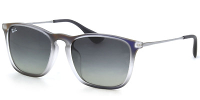 4634ebc35a9eb Authentic RAY-BAN Chris 4187F - 622311 Sunglasses Violet Grey Gunmetal   NEW 54mm
