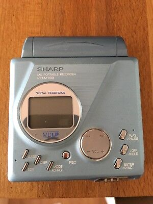 Sharp MD-MT99H(BL) Minidisc Player und Recorder