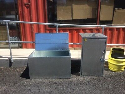 aluminium storage container