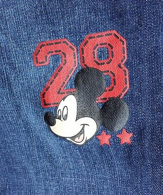 Disney NWT Boys Sz 3T Mickey Mouse Clubhouse Jeans with Mickey Spell Out Pants