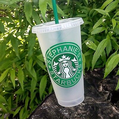 Starbucks Personalized Venti Reusable Cold Cup Tumbler