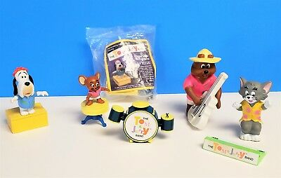 Vintage Mcdonalds 1989 The Tom & Jerry Band Lot