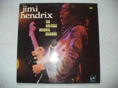 "Jimi Hendrix ""the Greatest Original Sessions"" 1975 Fra Orig. Dolp Mint- Wah Fuzz"