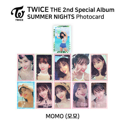 TWICE : 'SUMMER NIGHTS DANCE THE NIGHT AWAY' Official Photocard - Momo