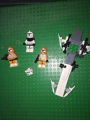 Lego Star Wars 7913 Clone Trooper Battle Pack Complete With