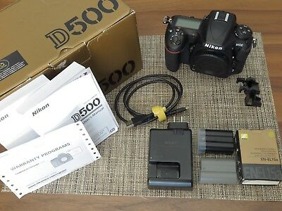 IMMACULATE - Nikon D500 SLR Camera Body - (US Model / Shutter Count: 2269)