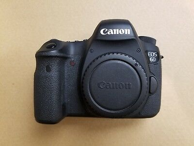 VERY LIGHTLY USED! Canon EOS 6D 20.2MP Digital SLR Camera - Black (Body Only)